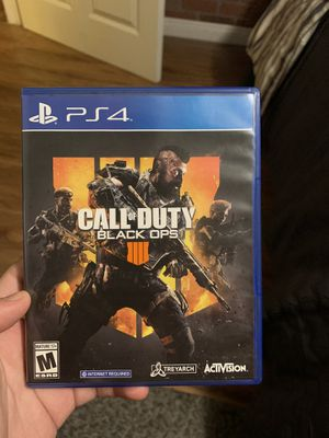 CALL OF DUTY BLACK OPS 4 | PS4 for Sale in Covina, CA