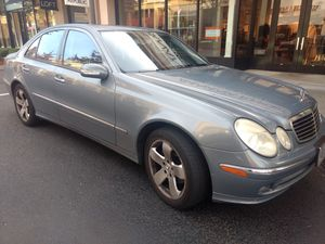 2005 E320 Mercedes Benz Only 128k Mystic Blue Pearl/Black Leather Clean title 3.2L Engine for Sale in Beaverton, OR