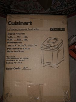 Cuisinart bread maker for Sale in Orlando,  FL