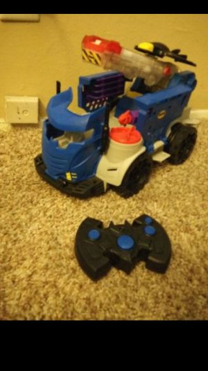 Batman imaginext remote controlled toy for Sale in Costa Mesa, CA