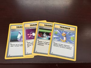 Pokémon Base Set trainer card bundle for Sale in Buena Vista, VA