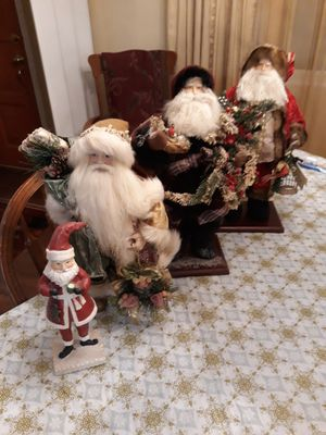 LARGE SANTAS for Sale in York, PA