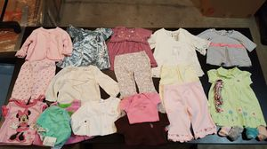 Baby girl clothes size 3/6 months for Sale in Renton, WA