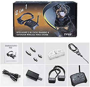 Petpi 1.7 out of 5 stars 45evaluations PetPi Wireless Dog Fence: Outdoor Wireless Fence Containment System and 2-in-1 Dog Training with for Sale in San Bernardino, CA