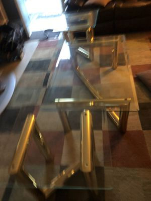 Coffee table set for Sale in San Leandro, CA