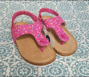 Cat & Jack Pink Raylynn Toddler Girl Sandals Size 9 for Sale in Orlando, FL
