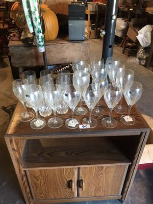 Crystal glass collection for Sale in St. Louis, MO