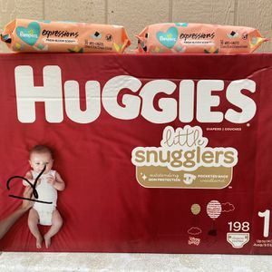 Huggies Size 1📍NO DELIVERY📍LOCATION LISTED BELOW📍 for Sale in Norwalk, CA