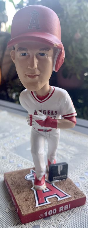 2016 LA Angels Mike Trout MVP Bobblehead 2 Of 3, SGA NO Box for Sale in Fullerton, CA