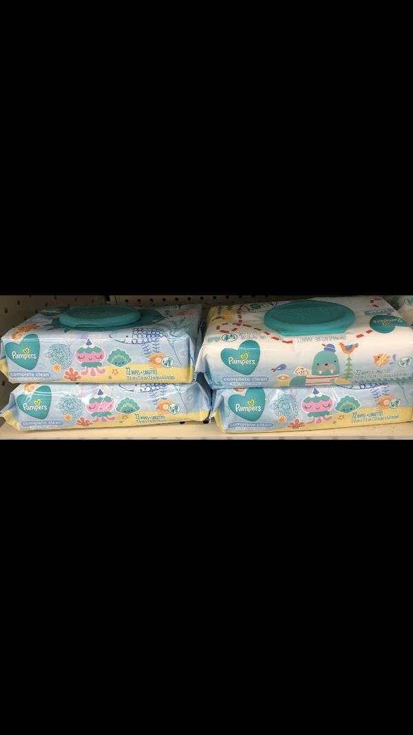 4pack Pampers Wipes