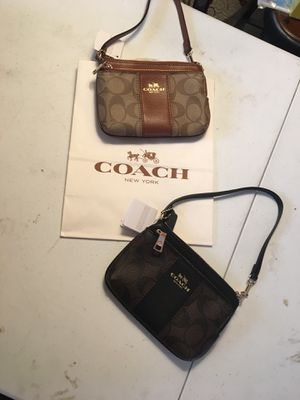 New coach wristlet purse $30 each for Sale in Santa Ana, CA