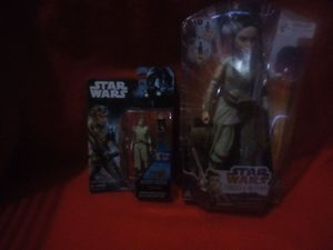 Star Wars Rey Figure and Doll Bundle for Sale in Ayden, NC