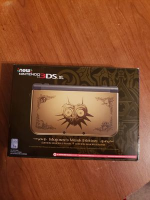 Nintendo 3ds XL Majoras mask edition **Sealed never opened** for Sale in San Antonio, TX
