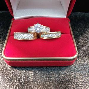 Set de bodas 14k garantizado free sizing for Sale in Ontario, CA