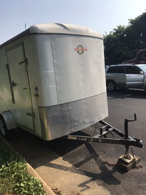 White enclosed trailer for Sale in Sterling, VA