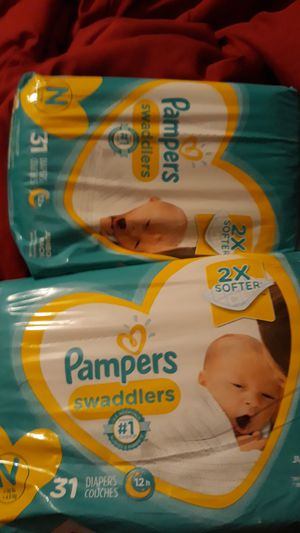 Newborn Babies Diapers for Sale in Irving, TX