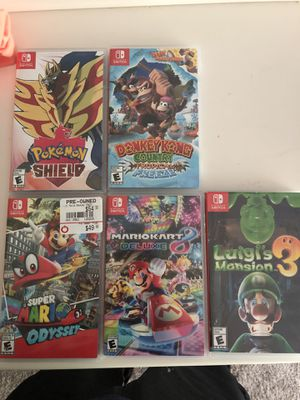 Nintendo switch games for Sale in Portland, OR