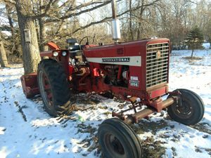 International 656 and international 80 tractor and snowblower for Sale in Osage, MN