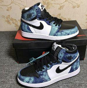 Tye dye Jordan 1's for Sale in Federal Way, WA