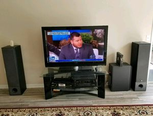 Phillips 53 Flat Screen/Onkyo Stereo/Yamaha Tower for Sale in Saint Petersburg, FL
