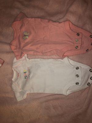 Carters girl Premie onesies for Sale in Palo Alto, CA