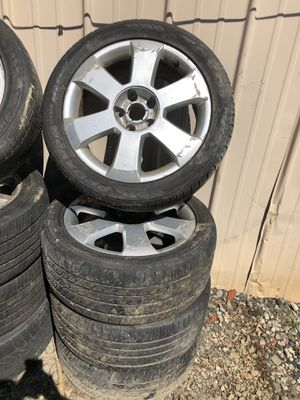 Audi A4 rims and tires !! 235/45/17 $250 for Sale in Southwick, MA