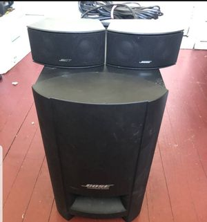 Bose Cinemate GS Series II Digital Home Theater Subwoofer Speakers for Sale in Pasadena, MD