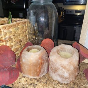 Salt Rock Candle Holders for Sale in Franklin, TN