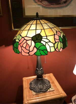 "24"" STAINED GLASS LAMP - TIFFANY STYLE for Sale in Boca Raton, FL"