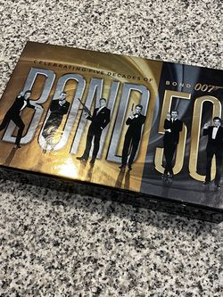 James Bond 50th Anniversary Collection Blurays for Sale in Irving,  TX