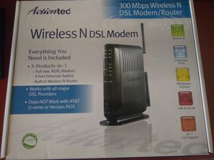 Actiontec wireless dsl modem and router for Sale in Phoenix, AZ