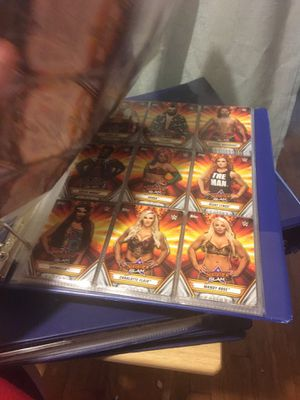 Summer slam 2019 Wwe cards and some intercontinental champ cards for Sale in Stockton, CA