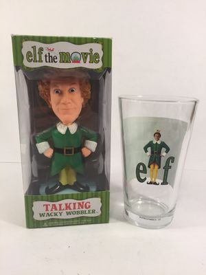 Buddy the Elf Bobblehead With Pint Glass for Sale in Indianapolis, IN