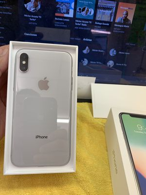 iphone x 64gb factory unlocked for Sale in Rockville, MD