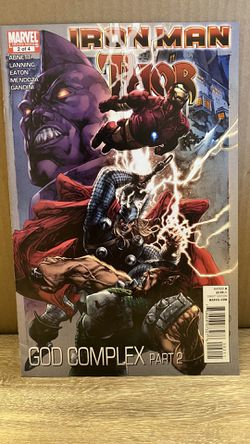 GOD COMPLEX: PART 2 (IRON MAN AND THOR) By Andy Lanning for Sale in San Angelo,  TX