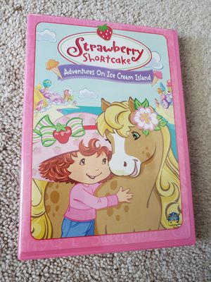 Strawberry Shortcake - Adventures on Ice Cream Island (DVD, 2004) for Sale in Chambersburg, PA