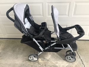 Greco double front back stroller for Sale in Cape Coral, FL