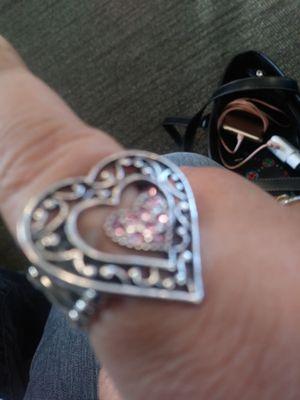 Silver heart ring for Sale in Moorhead, MN
