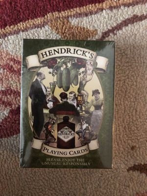 Hendricks playing card for Sale in New York, NY