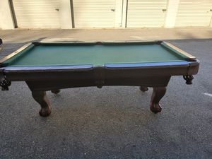 Pool table 7 foot for Sale in Woodbridge Township, NJ