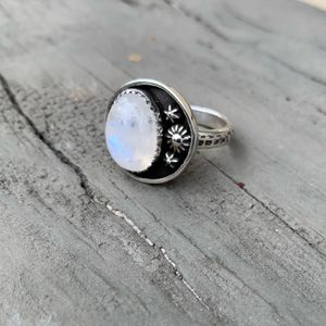 Moonstone sterling silver ring- NEW sz7 for Sale in Fullerton, CA