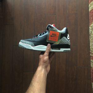 Nike Air Jordan 3 Black Cement Brand New Size 9.5! for Sale in Plantation, FL