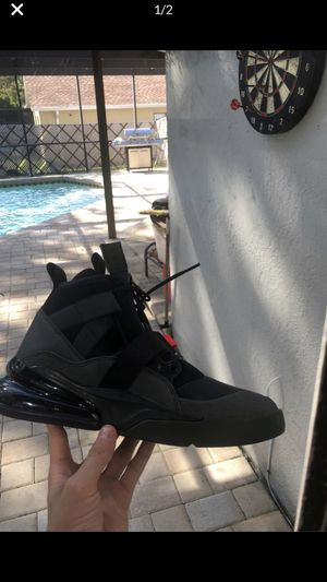 """NIKE AIR FORCE 270 UTILITY """"SEQUOIA/HABANERO"""" MEN'S SHOE for Sale in Spring Hill, FL"""