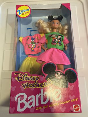 Barbie Disney Weekend with fun Mickey Mouse ears for Sale in Torrance, CA