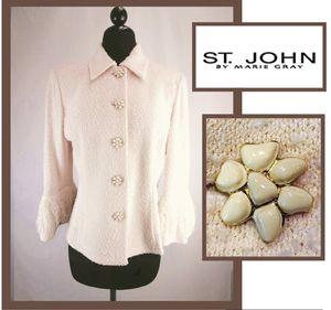 St.John by Marie Gray Blazer size 6 for Sale in Wakefield, MA