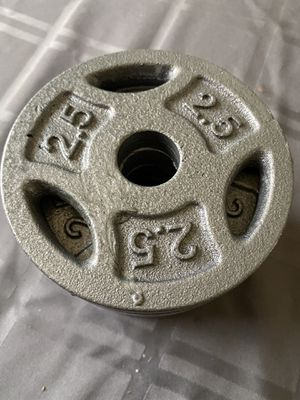 2.5lbs Weight Plate for Sale in Palmdale, CA