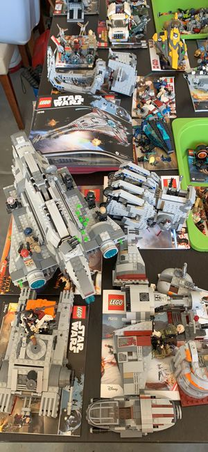 HUGE LEGO sale Star Wars and Marvel (prices in list) for Sale in San Marcos, CA