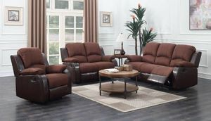 Reclining sofa and love for Sale in Dearborn, MI