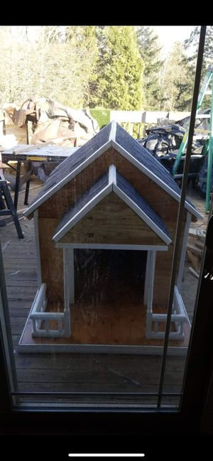 Give us an idea for you dog . Dog house and we will build it for Sale in Seattle, WA