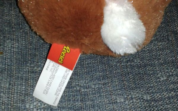 """REESE'S CANDY Reester Rabbit Plush Doll (16"""") NEW"""